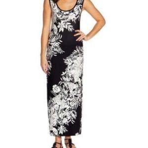 Mario Serrani Ladies' Sleeveless Maxi Dress Black